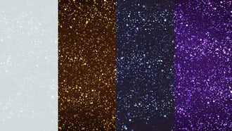 Glitter Particles Backgrounds: Motion Graphics