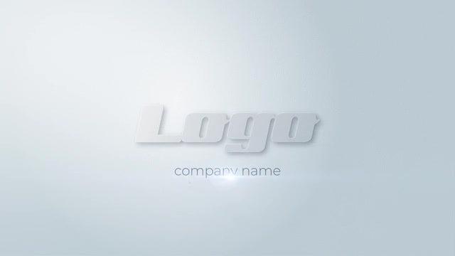 White Logo v01: Premiere Pro Templates