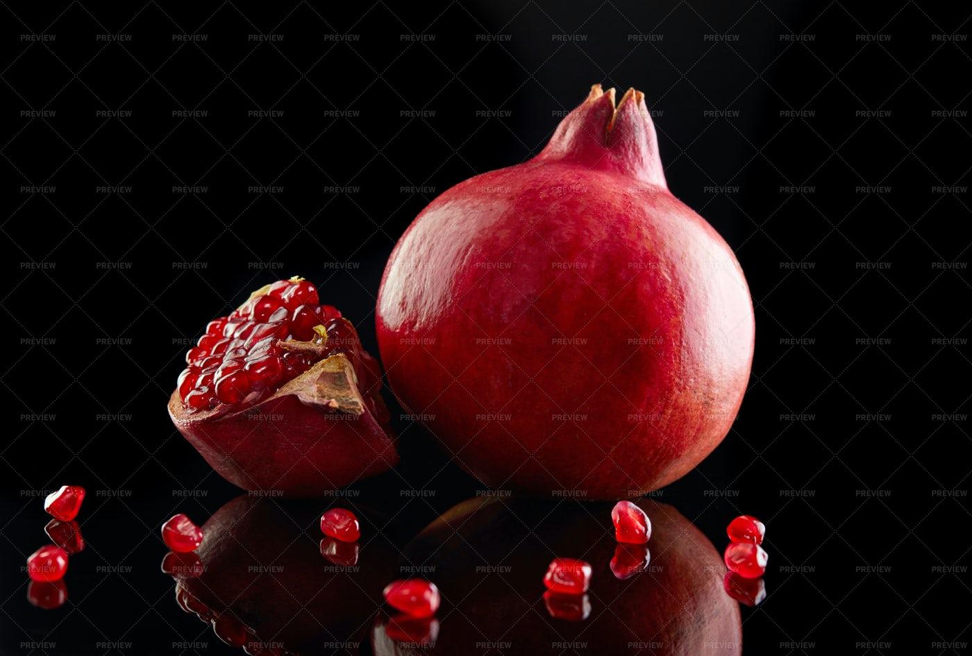 Pomegranates: Stock Photos