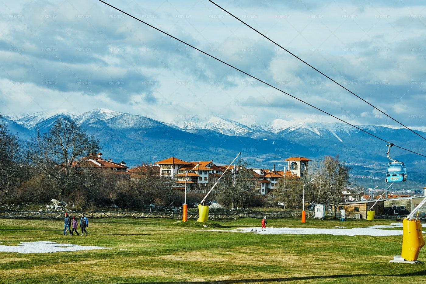 Bulgarian Ski Resort: Stock Photos