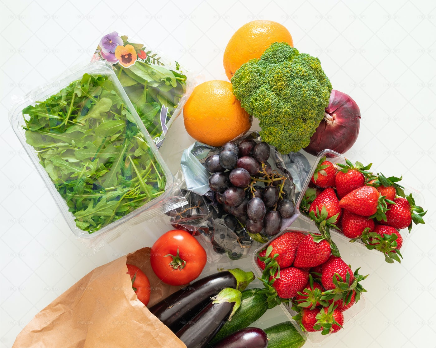 Fruits And Vegetables: Stock Photos