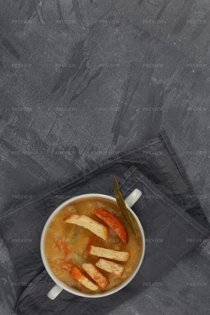 Split Pea Soup: Stock Photos