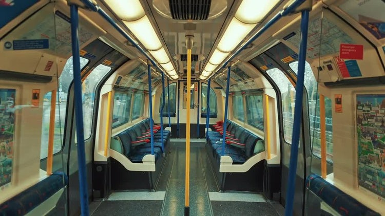 Stress-free Commuting: Stock Video
