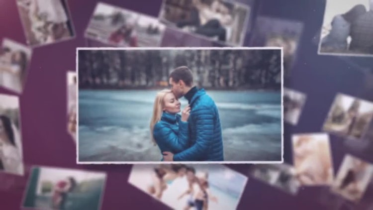 Multi Romantic Wedding Slideshow: After Effects Templates