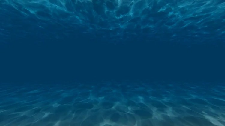 Under Water Light Waves: Motion Graphics