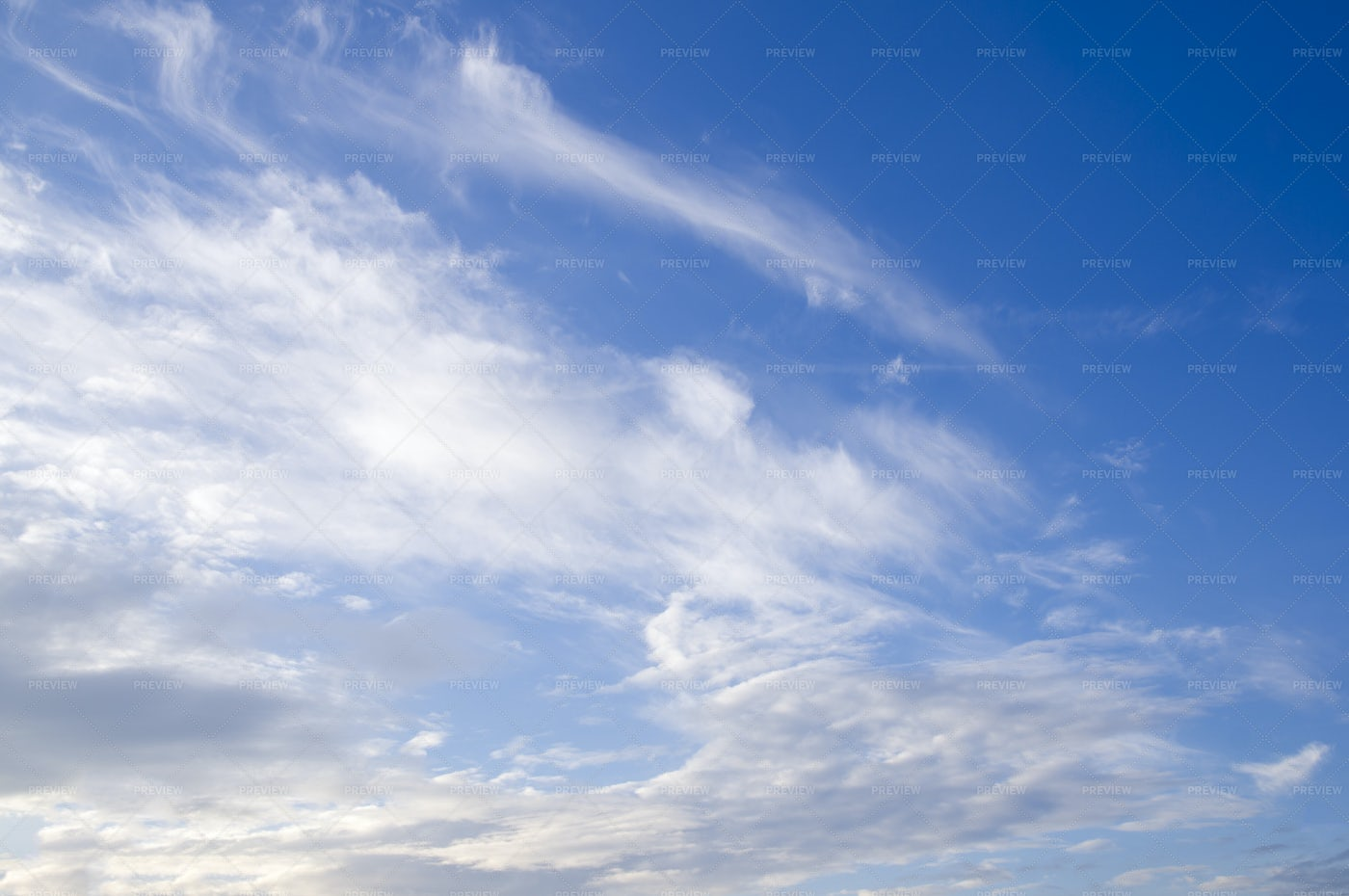 Blue Sky And White Clouds: Stock Photos