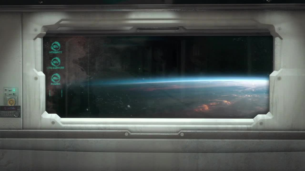 Spaceship Window Pack 1 Stock Motion Graphics Motion Array