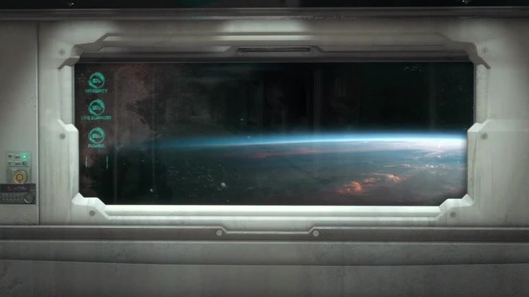 Spaceship Window Pack 1: Motion Graphics