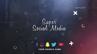 Super Social Media: After Effects Templates