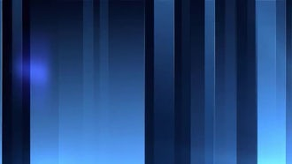 Blue Vertical Bars: Motion Graphics