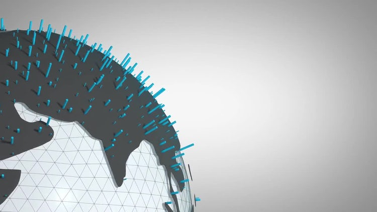 Business And Finance Earth Globe Pack: Stock Motion Graphics