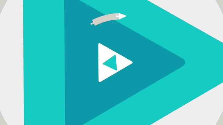 Flat Logo (Transition): Premiere Pro Templates