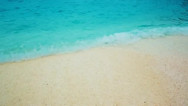 Marble Beach, Greek Islands, Greece: Stock Video