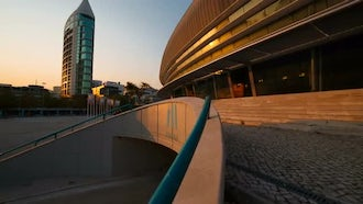 Altice Arena In Lisbon, Portugal: Stock Video