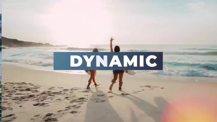 Dynamic Opener Slideshow: After Effects Templates