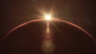 Mars Sunrise: Motion Graphics