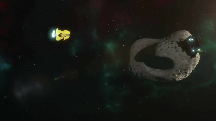 Asteroid Mining Pack: Motion Graphics