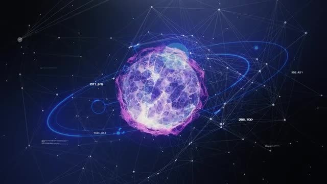 Scanning A Planet's Data: Stock Motion Graphics