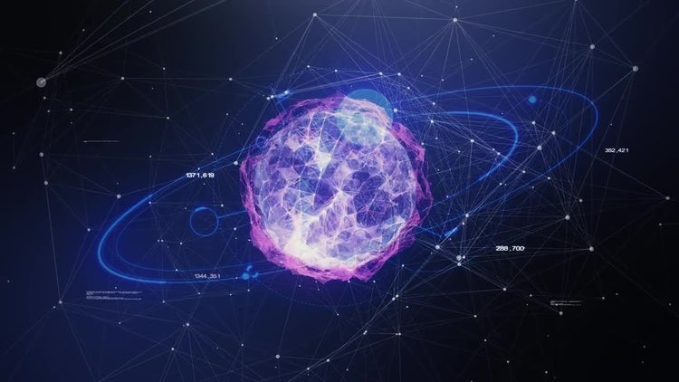 Scanning A Planet's Data: Motion Graphics