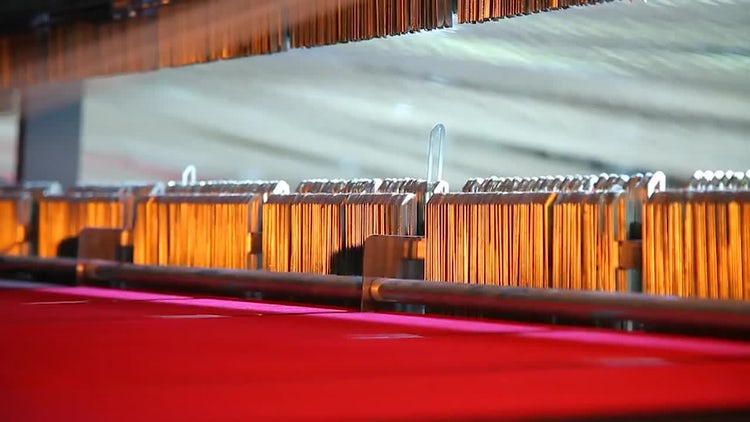 Carpet Weaving Looms: Stock Video