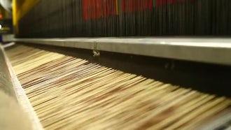 Carpet Weaving Looms: Stock Video