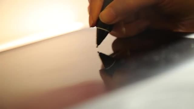 Design Drawing On Tablet : Stock Video