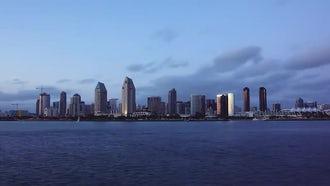 San Diego City Lights: Stock Video