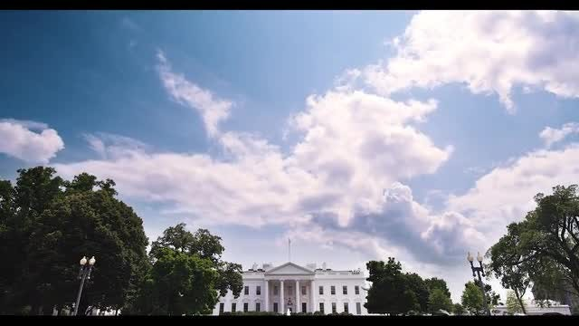 White House Time-lapse: Stock Video