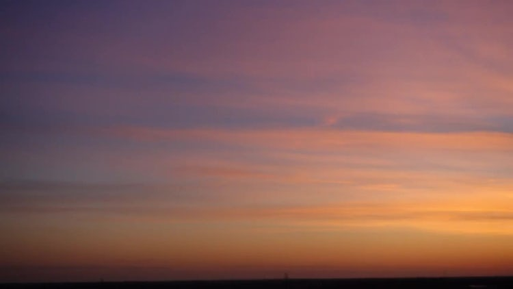 Sunset Clouds Time-lapse : Stock Video