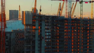 4K North Greenwich Peninsula In London, England: Stock Video