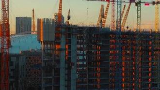4K North Greenwich Peninsula In London: Stock Video