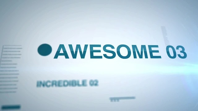 Key Words: After Effects Templates