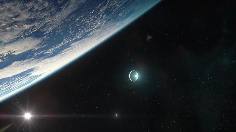Space Capsule Approaching Earth Pack: Stock Motion Graphics