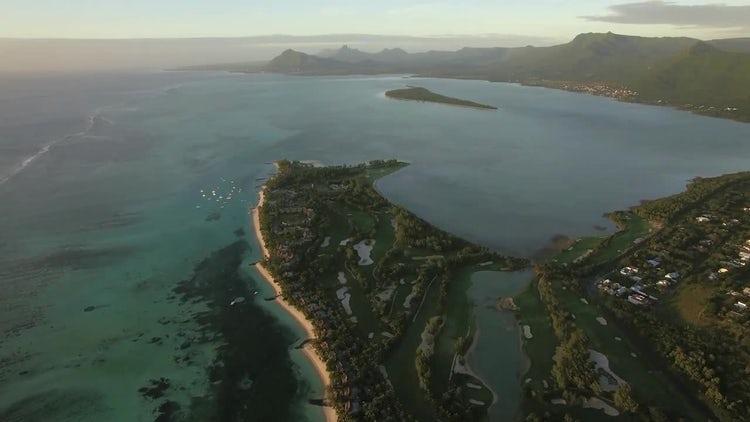 Le Morne Brabant Peninsula : Stock Video