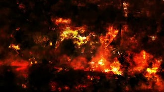 Fire Wall Texture: Motion Graphics
