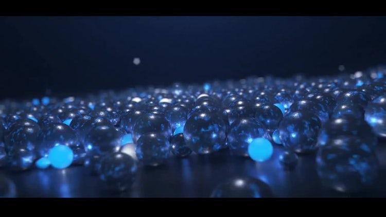 Glow Spheres Logo: Premiere Pro Templates