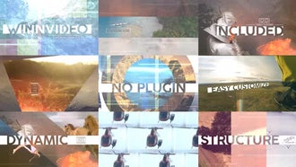 Dynamic Intro/Slideshow: After Effects Templates