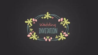 10 Floral Frame for Wedding Day: After Effects Templates