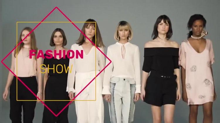 Street Fashion Slideshow Opener: Premiere Pro Templates