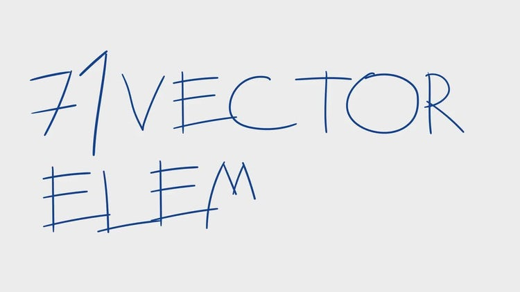 Hand Drawn Alphabet: After Effects Templates