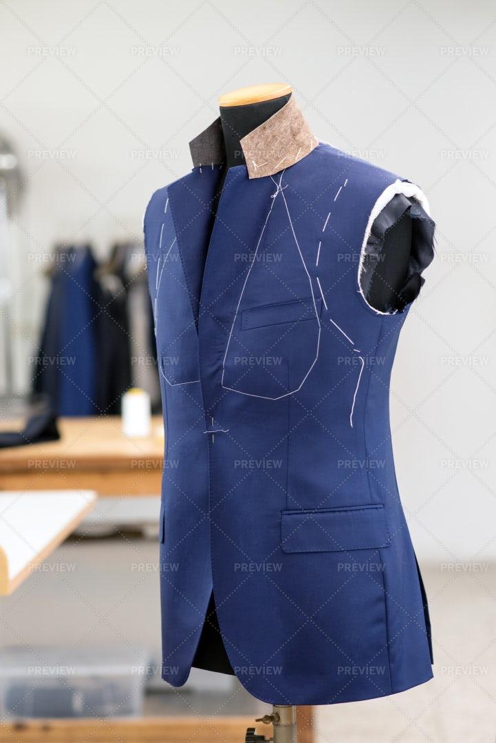 Suit In Mannequin: Stock Photos