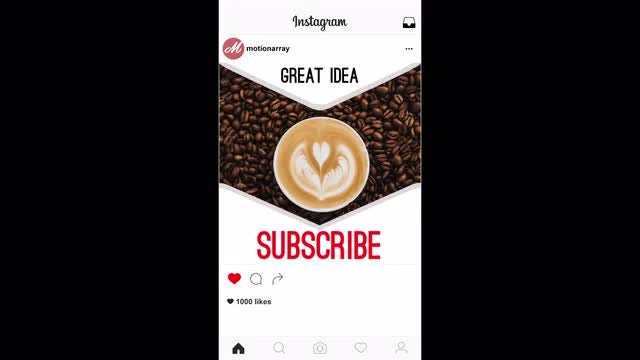 Instagram opener: Premiere Pro Templates