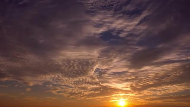Beautiful Sunset Timelapse: Stock Video