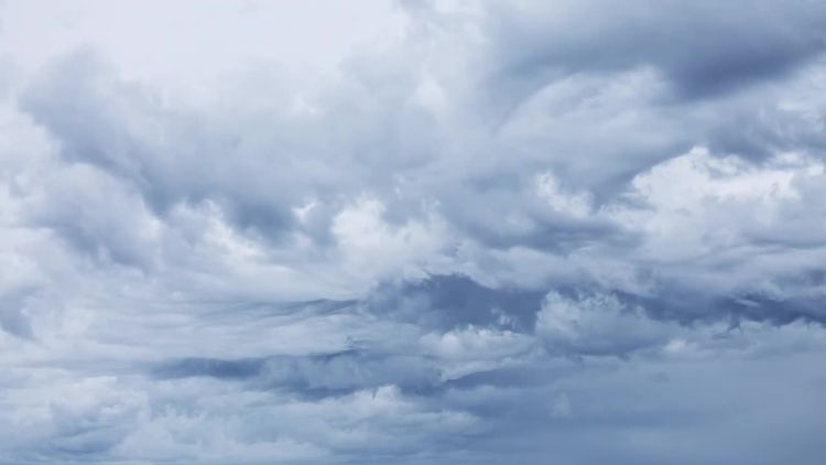 Dark Storm Clouds Timelapse: Stock Video