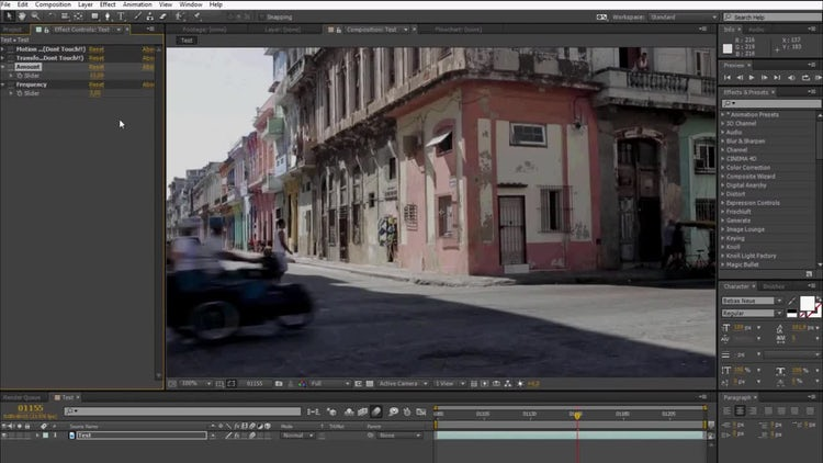 After Effects Shake v1 - Preset: After Effects Presets