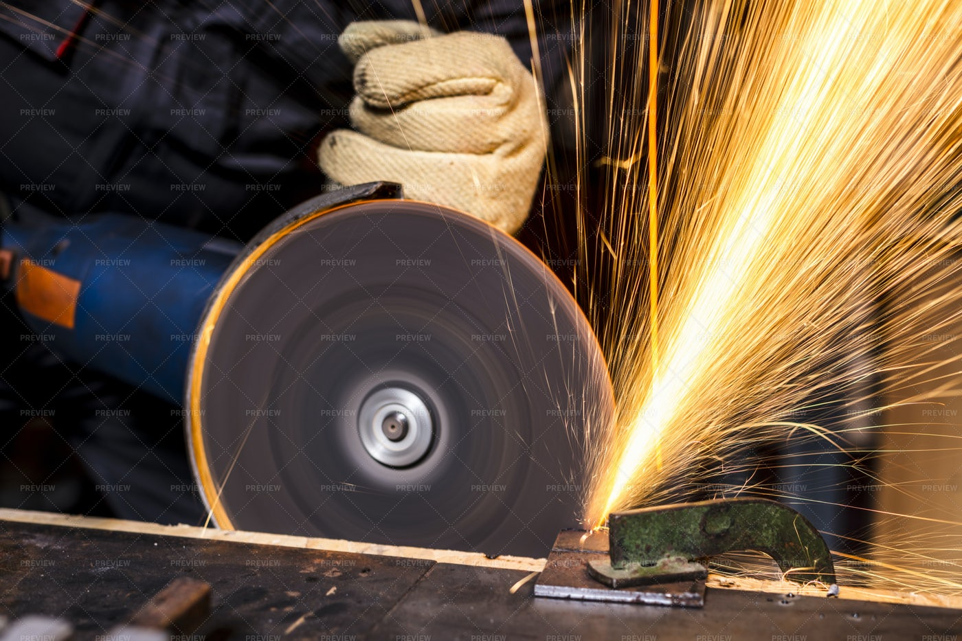 Industrial Grinder: Stock Photos