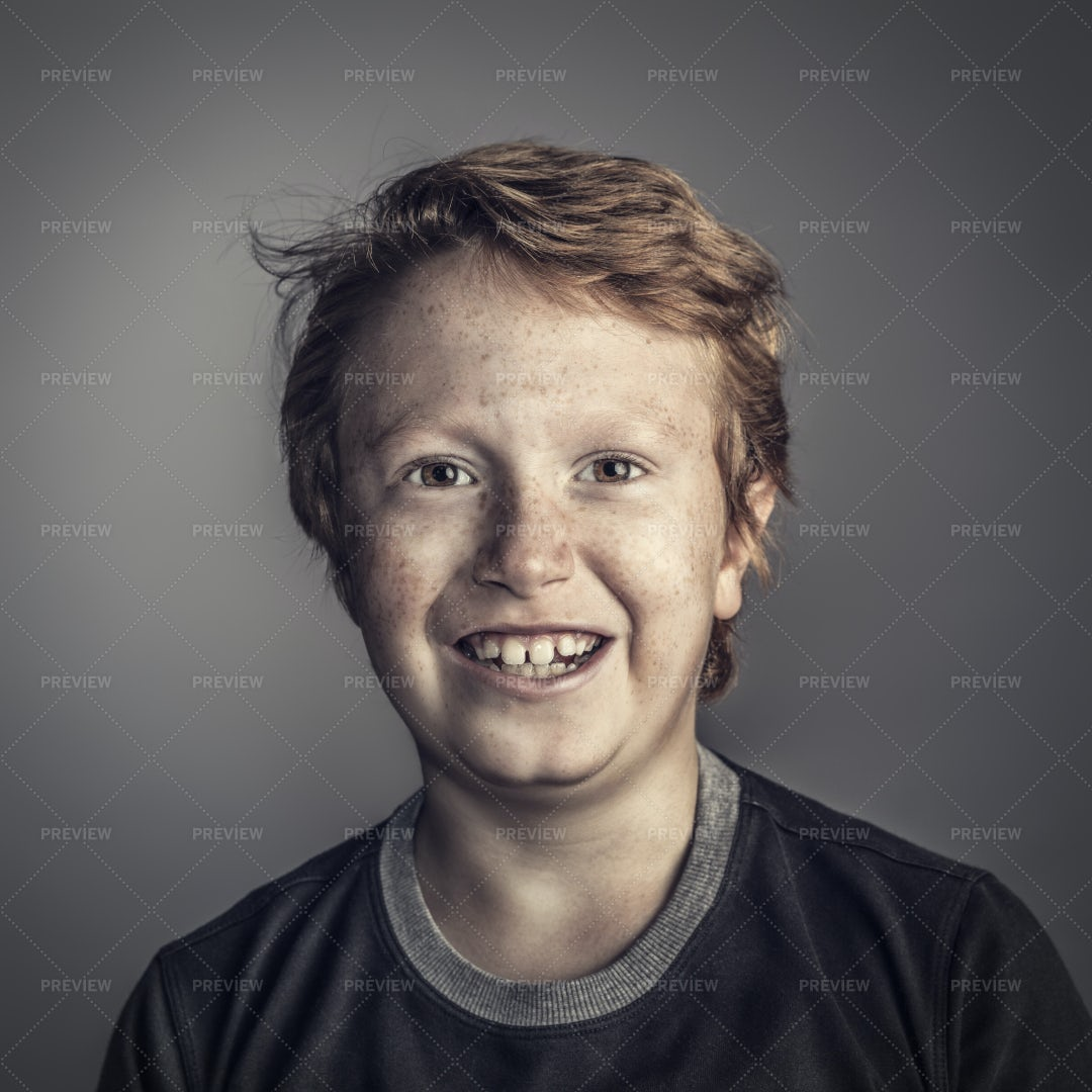 Smiling Young Boy: Stock Photos