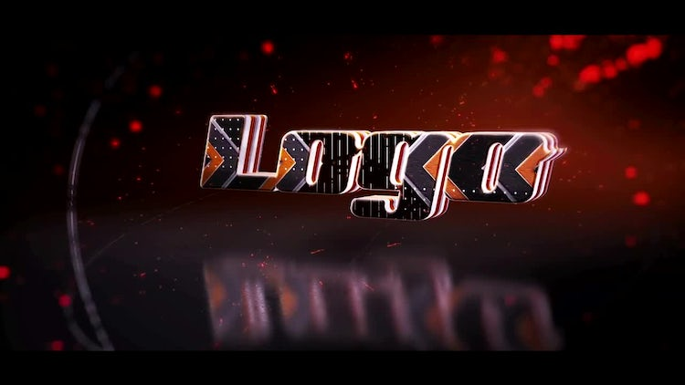 Reflection 3D Logo: After Effects Templates
