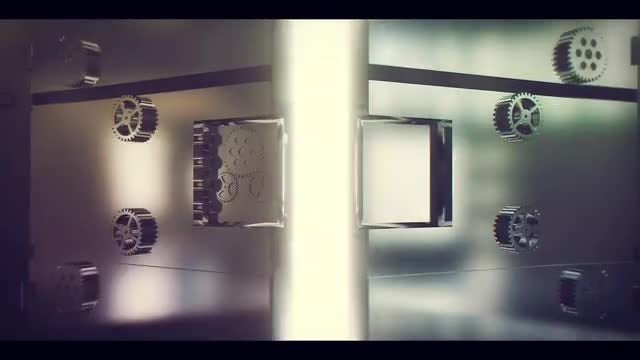 Metallic Door Intro: After Effects Templates