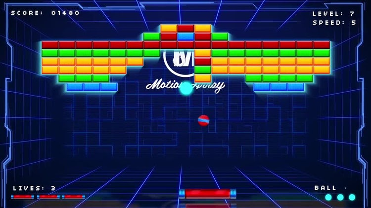 Retro Arcade Logo Reveal: After Effects Templates